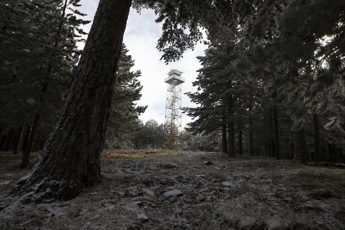 Abandoned Towers of Mount Ida